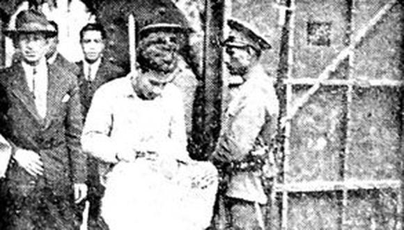 La mañana del 16 de noviembre de 1944, Mamoru Shimizu ingresó a la Cárcel Central del Varones tras catorce días de haber cometido el horrible asesinato. (Foto: GEC Archivo Histórico)
