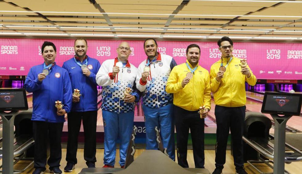 Puerto Rico perdió la medalla de oro en bowling por dopaje de uno de sus integrantes | Foto: Miguel Bellido / Lima 2019