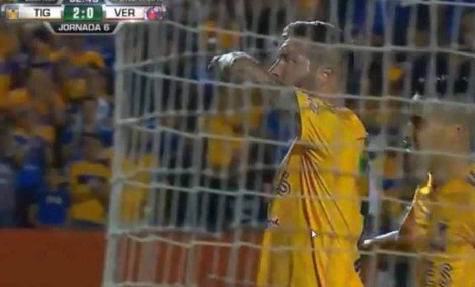 Así fue el 2-0 de Tigres ante Veracruz por la Liga MX. (Captura: YouTube)