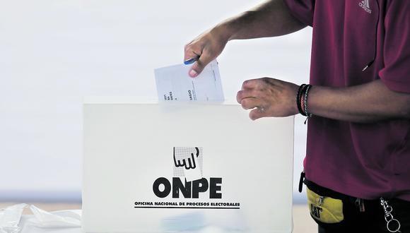 El Pleno del Jurado Nacional de Elecciones (JNE) revisará mañana 10 expedientes de apelación de actas observadas. (Foto: GEC)