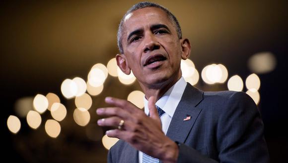 La familia Obama no se encuentra retirada de la vida pública y trata de mostrarse activa con el pasar de los años. (Foto: AFP)
