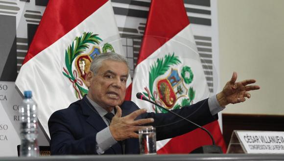 Fiscal Germán Juárez asume investigación del caso César Villanueva. (GEC)