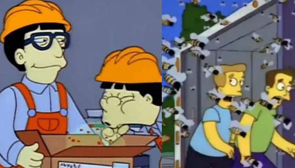 """El episodio, transmitido en 1993, narra cómo Homero Simpson y su familia se enfrenta a una pandemia originada en Japón y posteriormente se enfrentan a """"abejas asesinas""""."""