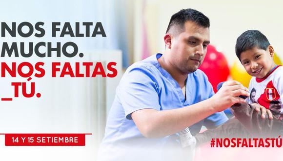 El padre Isidro Vásquez, presidente de la Fundación Teletón, señaló que con los fondos que se recauden se podrá equipar el nuevo Instituto de Rehabilitación Pediátrica de Piura. (Facebook)