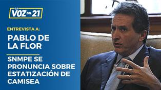 """Pablo de la Flor: """"Estatizar Camisea es un disparo a los pies"""""""
