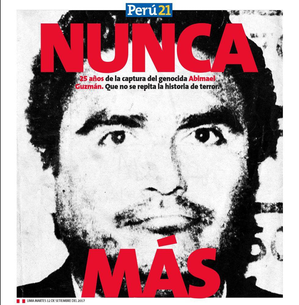 Nunca más (Perú21)