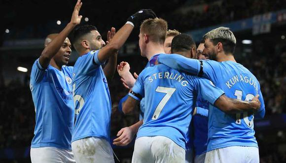 Manchester City vs. Everton se enfrentarán en la jornada 21 de la Premier League. (Foto: AFP)
