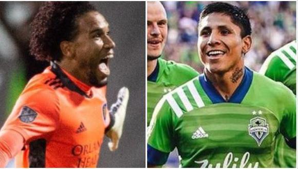 Raúl Ruidíaz y Pedro Gallese serán parte del MLS All-Star Game. (Foto: Orlando City / Seattle Sounders)