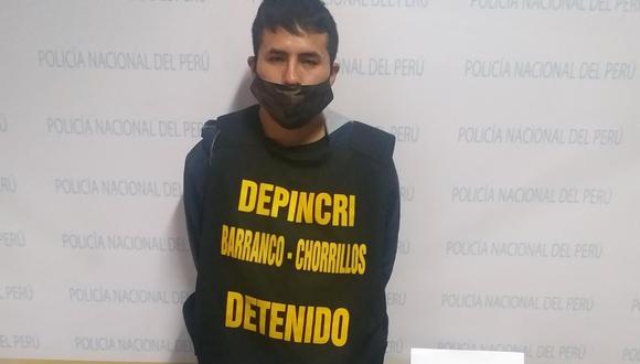 Hugo Peve es señalado por la Policía como el cabecilla de una banda criminal y de haber herido de bala a un agente. (PNP)