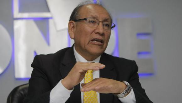 Mariano Cucho, jefe de la ONPE. (Perú21)