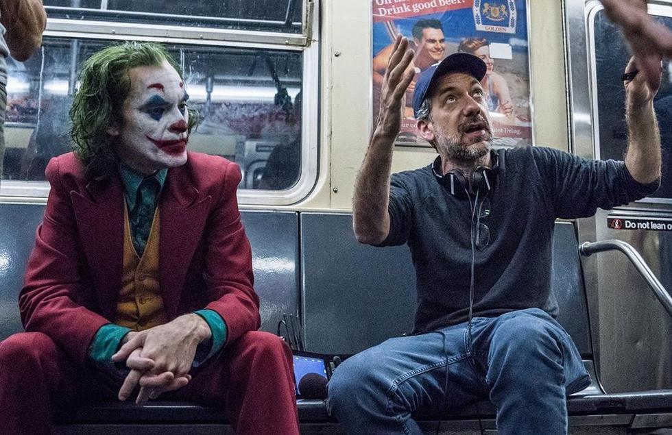 """Todd Phillips publica nuevas fotografías del detrás de cámaras de """"Joker"""". (Fotos: Instagram)"""