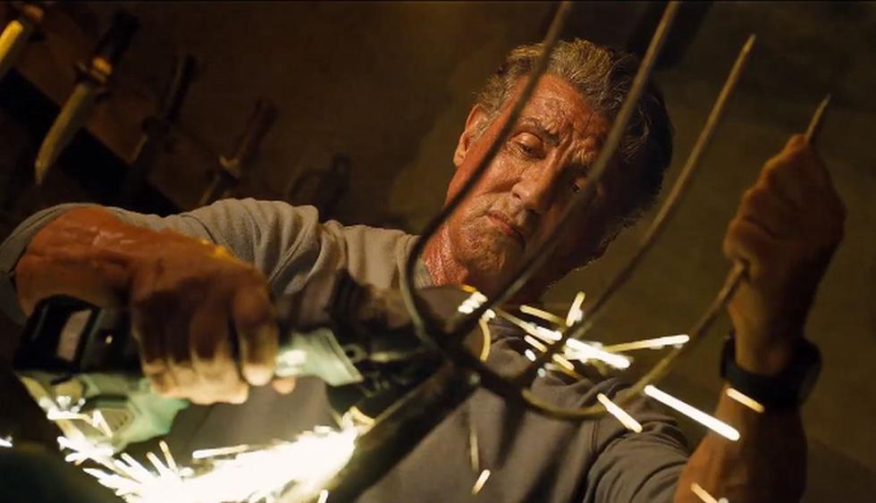 """tráiler internacional de """"Rambo: Last Blood"""" muestra al exmilitar enfrentándose a un peligroso cartel mexicano. (Foto: Captura de video)"""