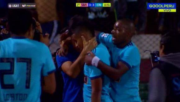 Sporting Cristal goleó por 3-0 a Sport Boys. El tercero fue de Edinson Chávez. (Video: Gol Perú)