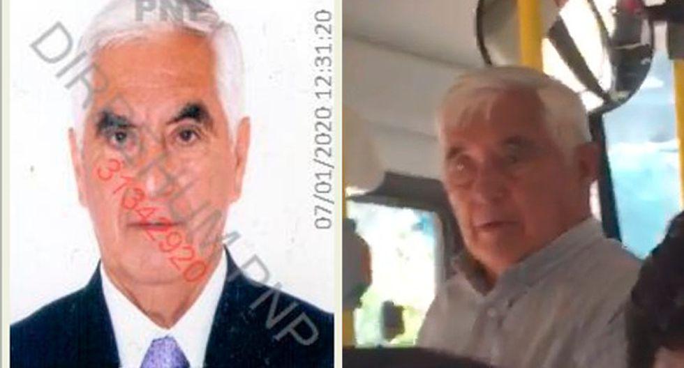 Jorge Arnaldo Osorio Carrillo (84) habría dejado el país tras ser buscado por la Policía. (Composición)