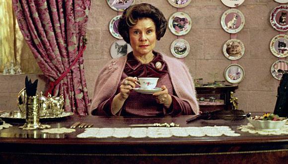 Dolores Umbridge, la sádica profesora de Harry Potter. (Warner Bros.)