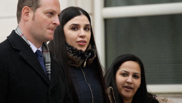 Emma Coronel  fue detenida en un aeropuerto de Estados Unidos. (Foto: KENA BETANCUR / AFP)
