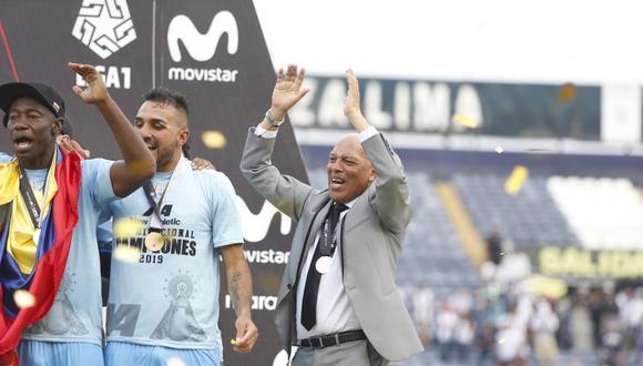 Roberto Mosquera no es más entrenador de Binacional. (Foto: GEC)