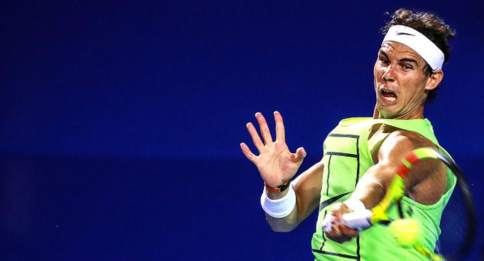 Rafel Nadal. (Getty Images)