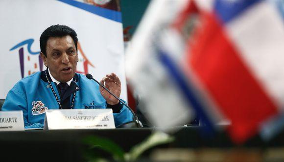 Anibal Sánchez destacó la participación de ciudadanos en el proceso. (Geraldo Caso)