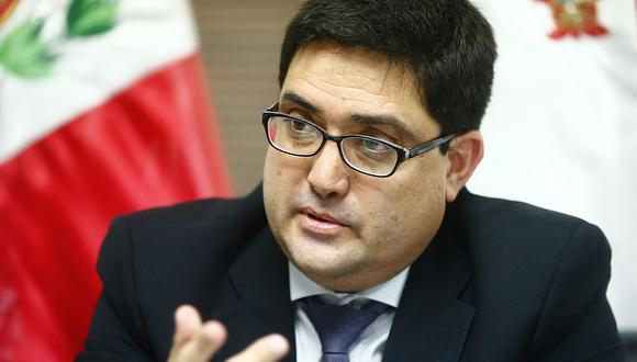 El procurador Jorge Ramírez dijo que el fiscal de la Nación, Pedro Chávarry, debería haber acudido a la procuraduría si tenía cuestionamientos por el acuerdo con Odebrecht. (Foto: GEC)