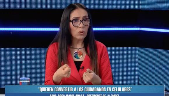 Facebook ha censurado a Rosa María Apaza por publicar falsedades (Willax TV).