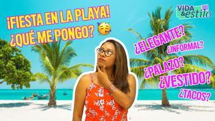 Look ideal para una fiesta en la playa con Tana Rendón