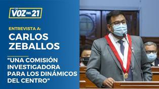"""Carlos Zeballos: """"Una comisión investigadora para los Dinámicos del Centro"""""""