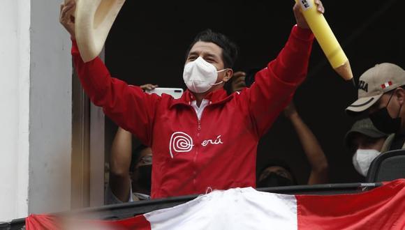 Pedro Castillo, espera los resultados.