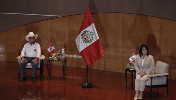 Los equipos técnicos de los partidos Fuerza Popular y Perú Libre debatirán este domingo 23 de mayo (Renzo Salazar/GEC),