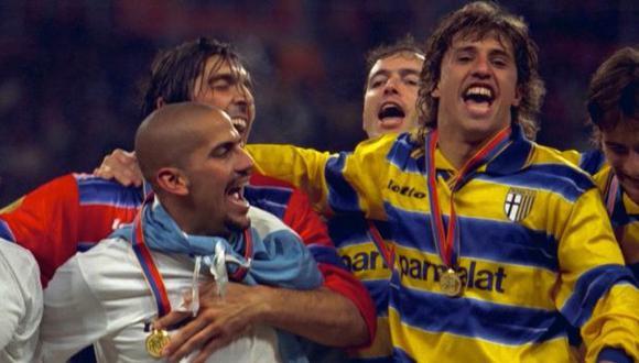 Verón, Crespo y varios futbolistas en el ojo de la justicia italiana. (Internet)