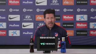 """Simeone: """"El Sevilla juega muy bien"""""""