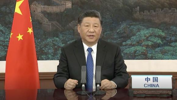 """PODER ASIÁTICO. XI Jinping, presidente de China, dijo que la vacuna de Sinopharm será """"un bien público"""". (AFP)"""