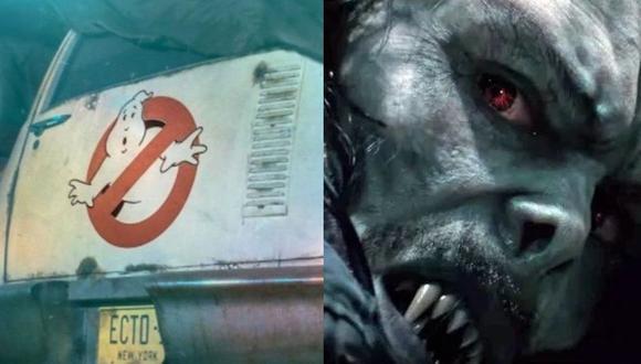 """Sony posterga el estreno de """"Ghostbusters"""" y """"Morbius"""" hasta 2021 por coronavirus. (Foto: Sony Pictures)"""