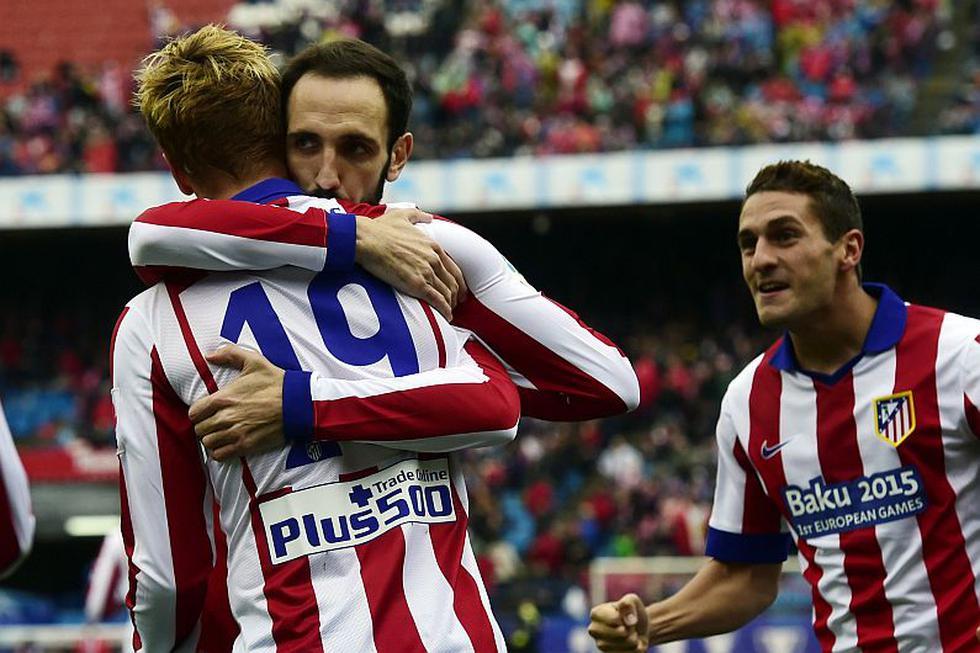 Atlético de Madrid venció 2-0 al Getafe por Liga española. (AFP)