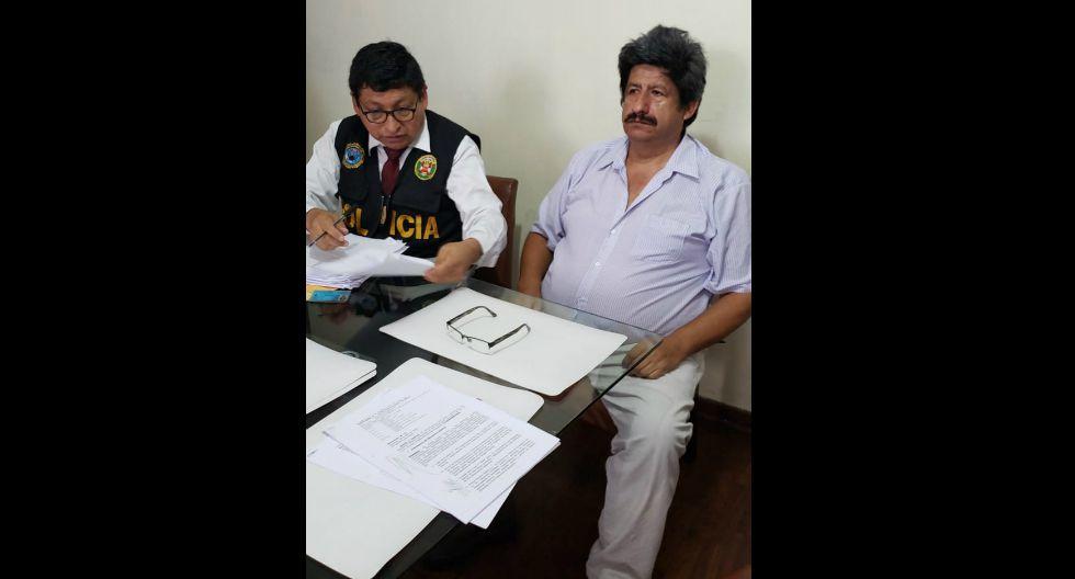 Exalcalde Curahuasi (Apurímac), Guillermo Vergara Abarca, fue detenido por otorgar obras de manera irregular por más de 6 millones de soles