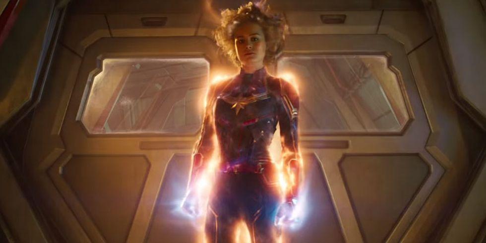 """Los inicios de la película """"Capitana Marvel"""" brinda un corto homenaje a Stan Lee. (Foto: Marvel Studios)"""