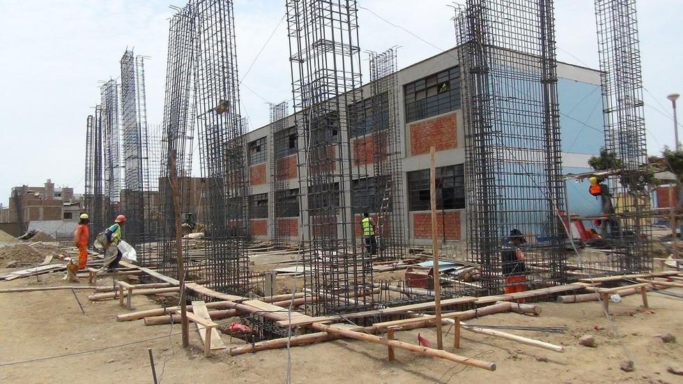 Las obras en los cuatros colegios de Trujillo, que ejecuta el Gobierno Regional de La Libertad, están valorizadas en S/18 millones.