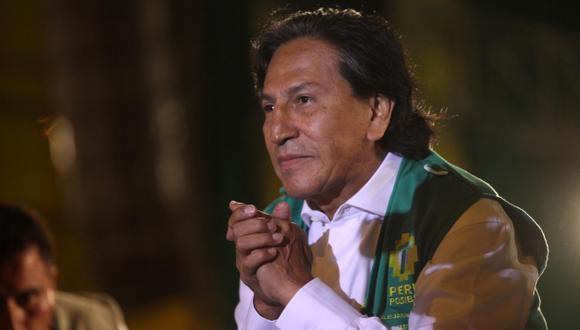 Partido cierra filas con Alejandro Toledo. (USI)