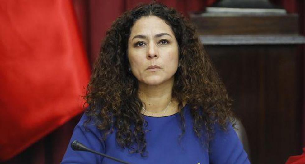 La congresista Cecilia Chacón mostró disposición de participar de todas las diligencias que correspondan. (Foto: GEC)
