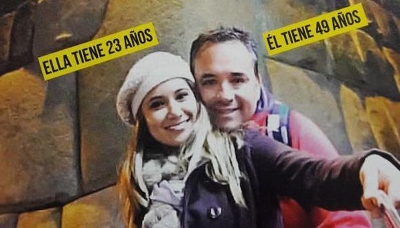Martínez y Fabiola Mantilla tienen un mes de relación, según revista de espectáculos. (Magaly Te Ve)