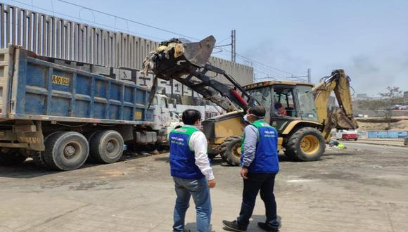 Recogerán 1,500 toneladas de basura esta semana en Villa María del Triunfo.