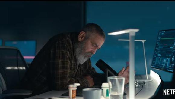 Netflix lanza un primer adelanto de la película de ciencia ficción de George Clooney. (Foto: captura de pantalla)