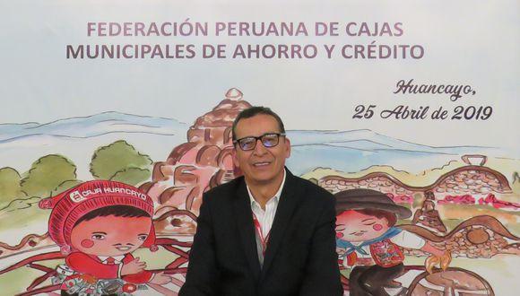 POSTURA. El presidente de las cajas municipales advierte que proyecto que se debate en el Congreso afectaría a 6 millones de ahorristas. (Foto: Difusión)