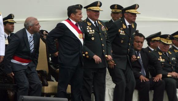EN LA MIRA. Humala pide a 'otorongos' que, así como se aumentan el sueldo, sean productivos. (Mario Zapata)
