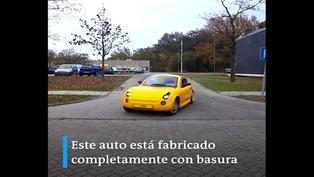 Descubre el automóvil fabricado con basura
