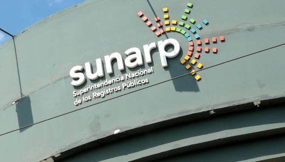 La Superintendencia Nacional de Registros Públicos (Sunarp). (Foto: GEC)