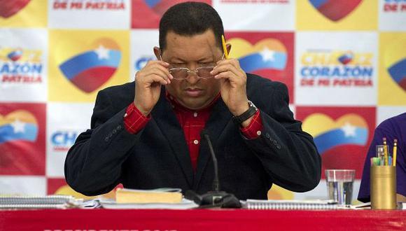 LO NINGUNEA. Hugo Chávez volvió a decir que votar por Henrique Capriles es apostar por la nada. (Reuters)