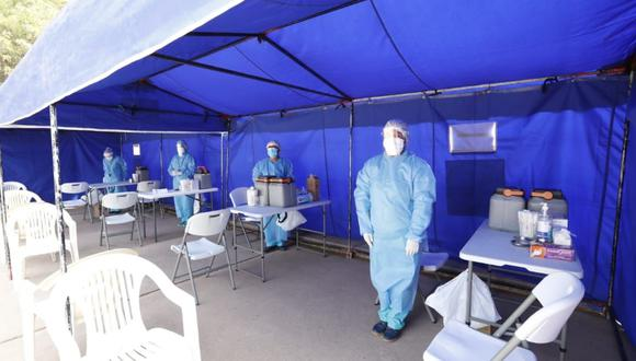 Puno: Ministra de Vivienda, Solangel Fernández, garantizó que el proceso de vacunación contra el COVID-19 se desarrollará con transparencia. (Foto: MVCS)