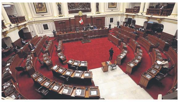 El dictamen deberá debatirse en el pleno antes de ser publicado. (Foto: GEC)