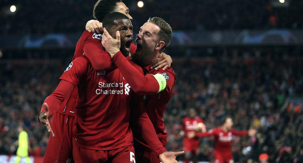 Liverpool goleó 4-0 al Barcelona por el pase a la final de Champions. (AFP)
